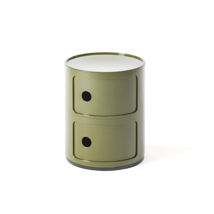 Componibili 4966 by Kartell in green