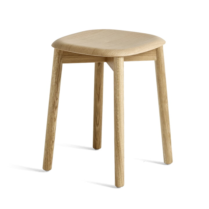 Soft Edge 72 Stool from Hay in matt lacquered oak