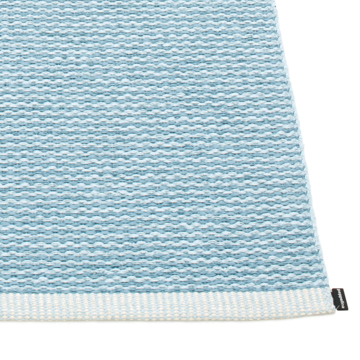 Mono Rug by Pappelina in Misty Blue / Ice Blue