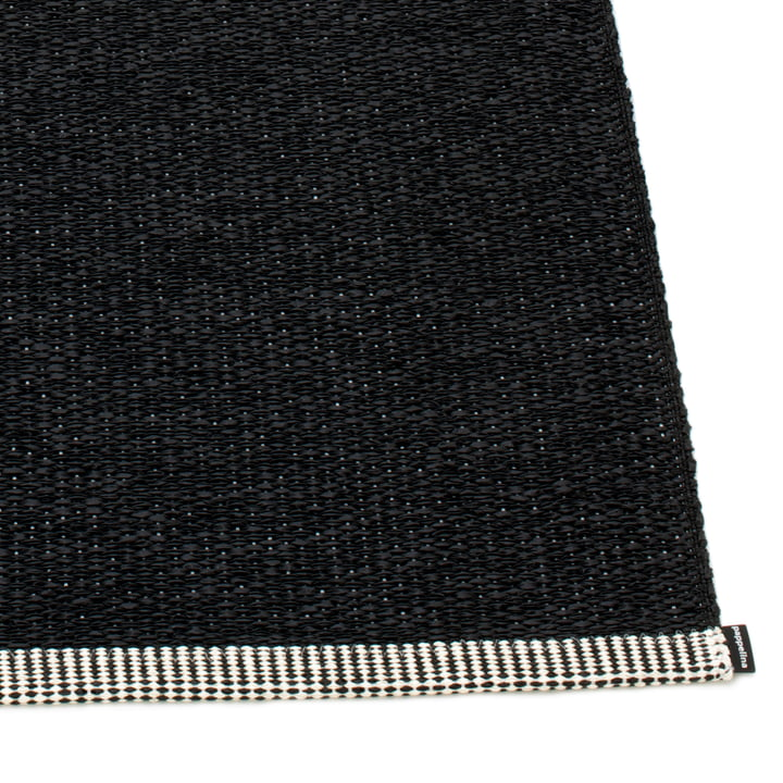 Mono Rug by Pappelina in Black