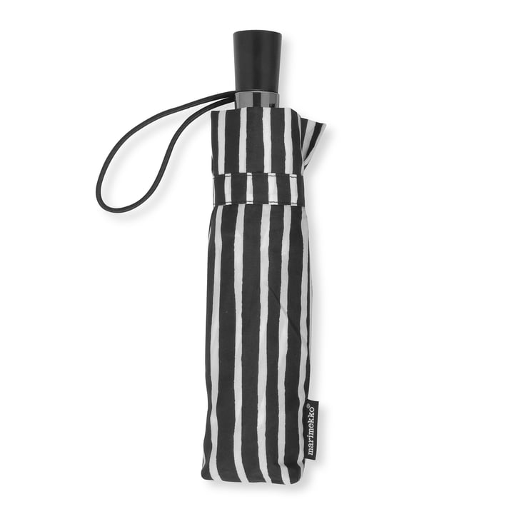 Piccolo Mini Umbrella by Marimekko in Black / White