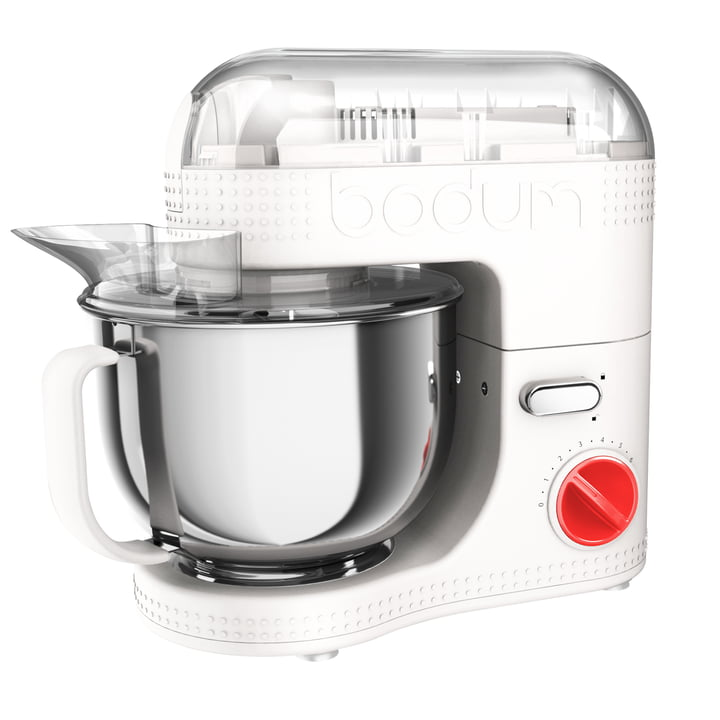 Bistro Electric Kitchen Machine 4,7 l by Bodum in white