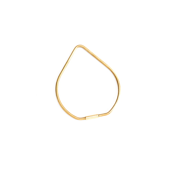 Contour Drop Keyring by Areaware