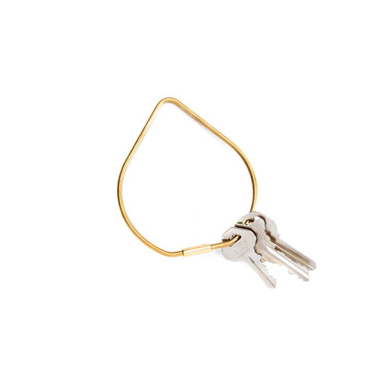 Contour keyring by areaware