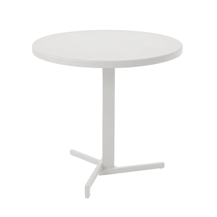 The Mia Bistro Table Ø 80 cm in White by Emu