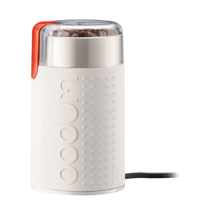 Bistro electric coffee grinder from Bodum in white