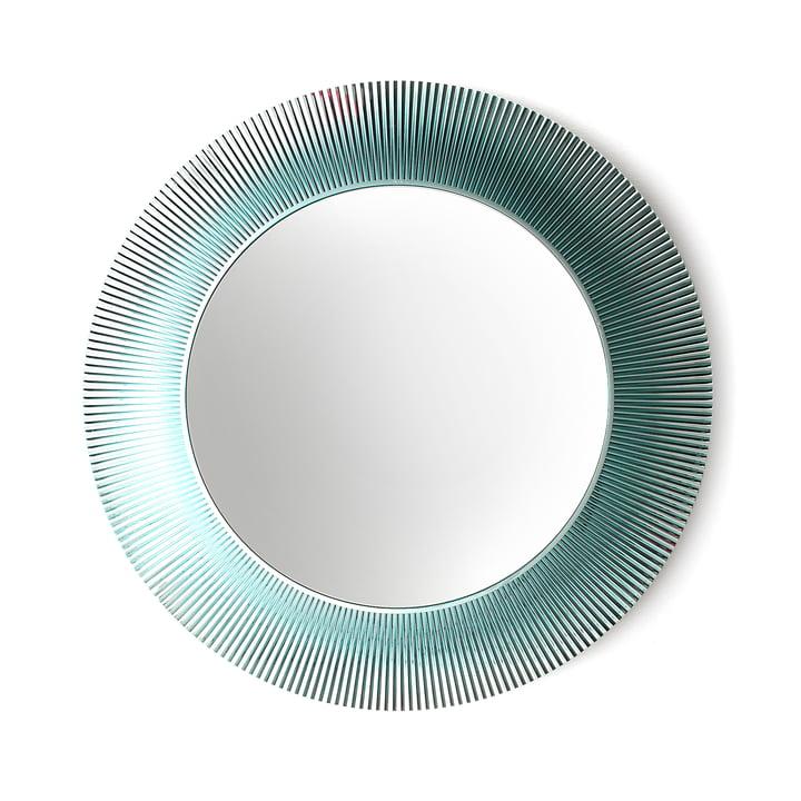 Kartell - All Saints  Mirror, aquamarine