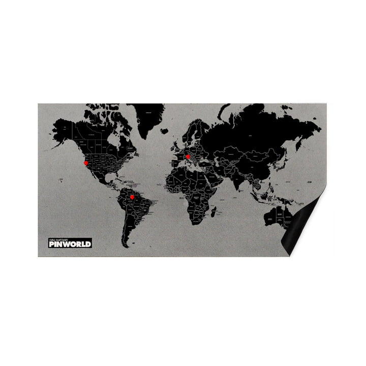 The Palomar - Pin World in black, standard