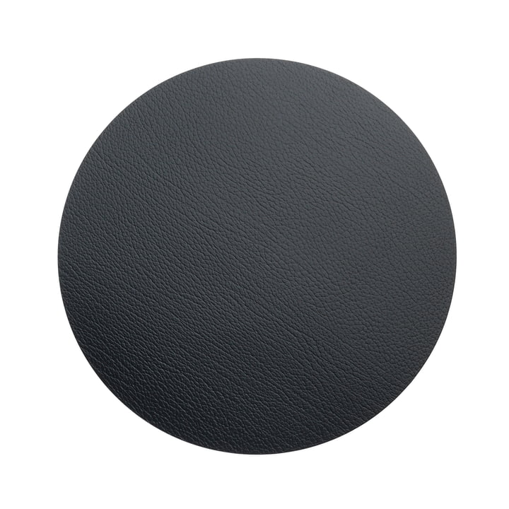 Hot Mat Circle M Trivet Ø 30 cm by LindDNA in Bull Anthracite (3 mm)