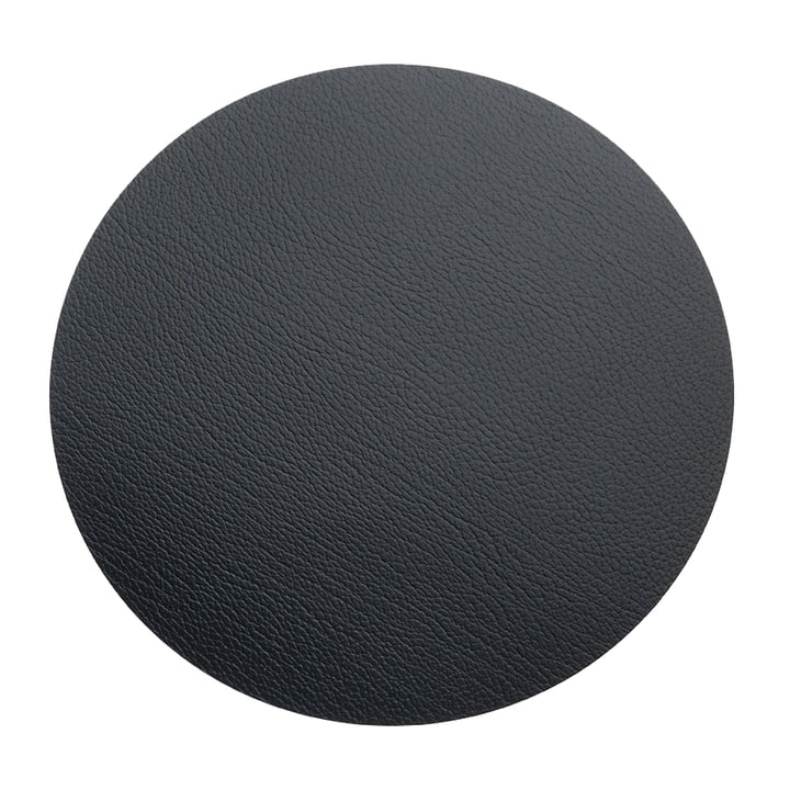 Floor Mat Circle XXXL Ø 92 cm by LindDNA in Bull Black