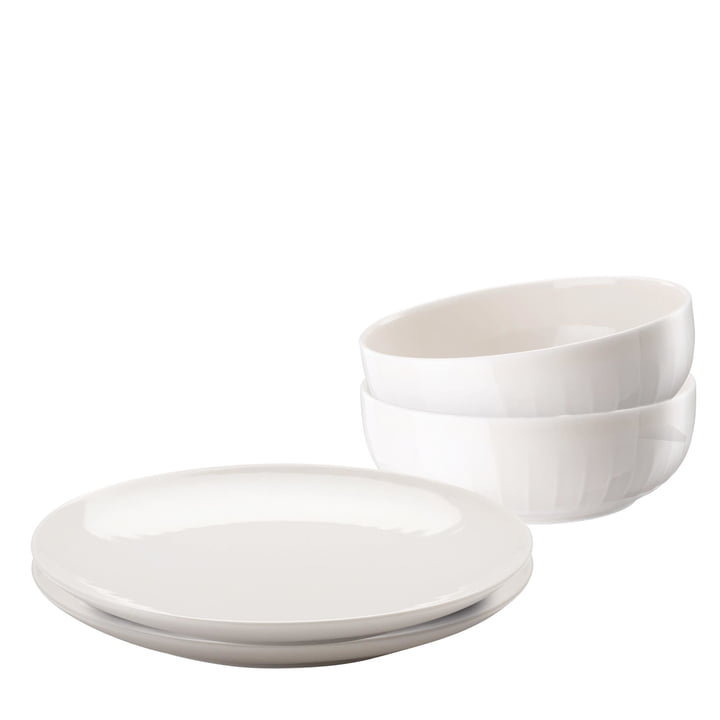 Arzberg - Joyn Dinnerware Set (4 pcs) in Rosé