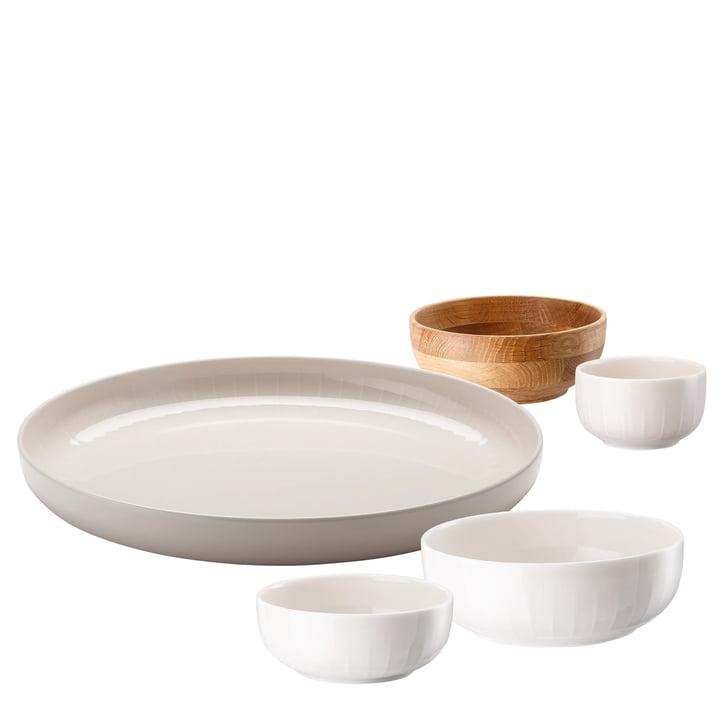 Arzberg - Joyn Dinnerware Set (5 pcs) in Rosé