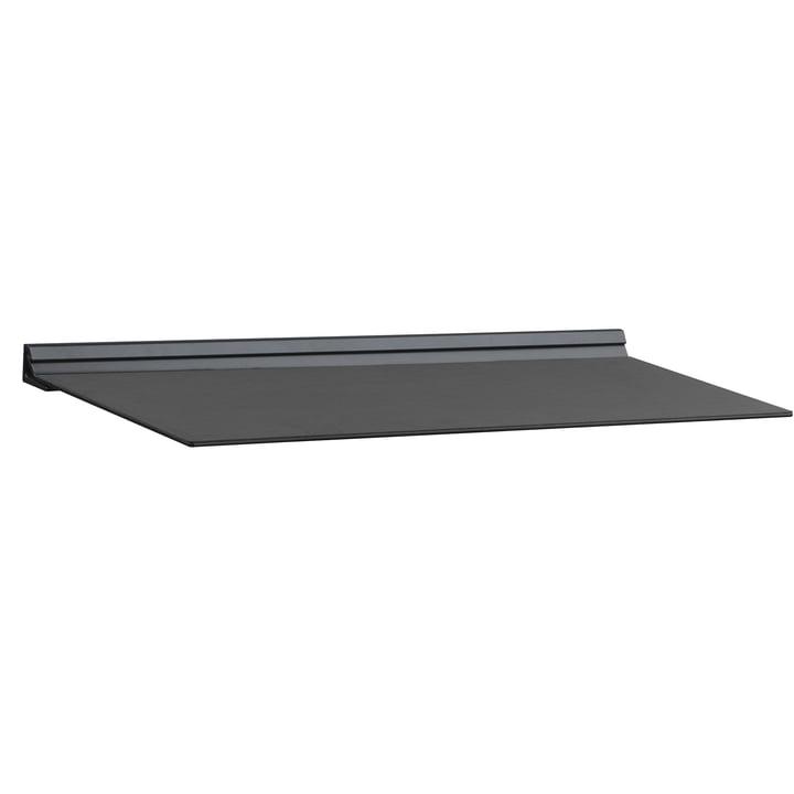 Slim Wall Shelf by LindDNA in black Nupo / black steel