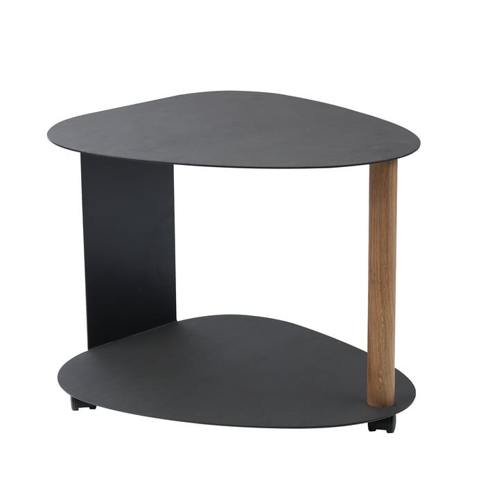 Curve Table L by LindDNA in black Nupo / black steel