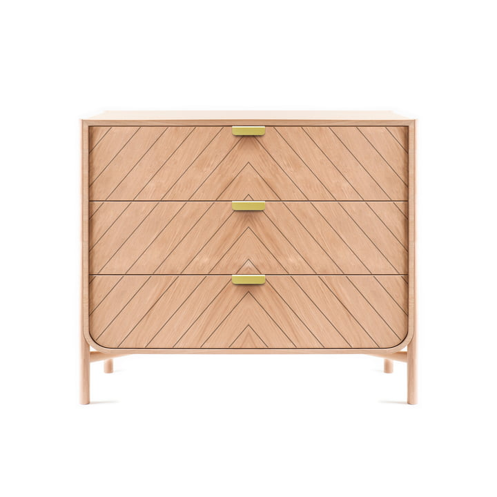 Marius drawer chest of drawers by Hartô in oak nature