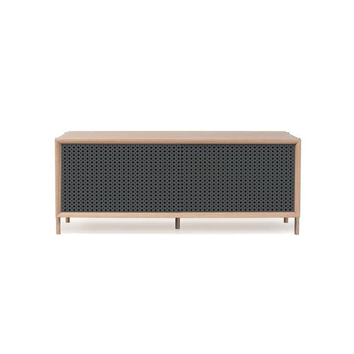 Hartô - Gabin Sideboard 122 cm, anthracite grey (RAL 7016)