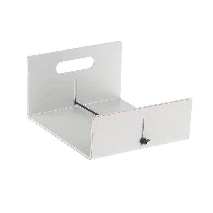 LindDNA - Napkin holder, Nupo metallic / Aluminium metallic