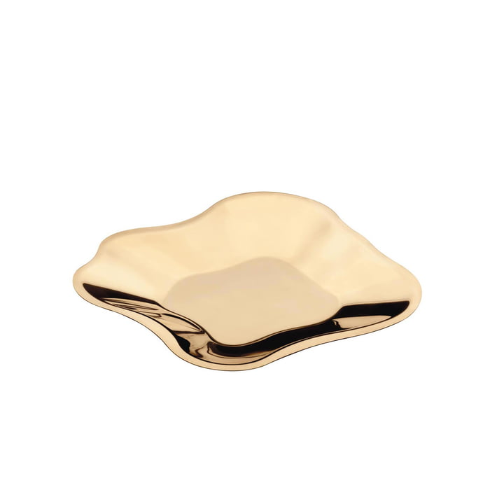 Aalto bowl flat 358 mm from Iittala in Rose Gold