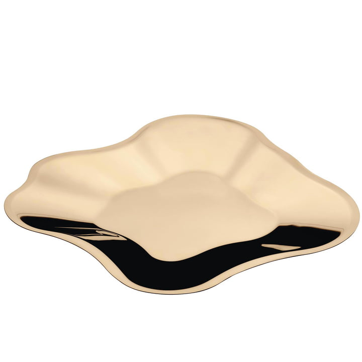 Aalto bowl flat 504 mm from Iittala in rose gold