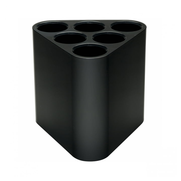 Poppins umbrella stand by Magis in black