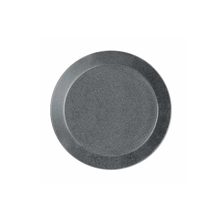 Teema Flat Plate Ø 17 cm by Iittala in Speckled Grey: