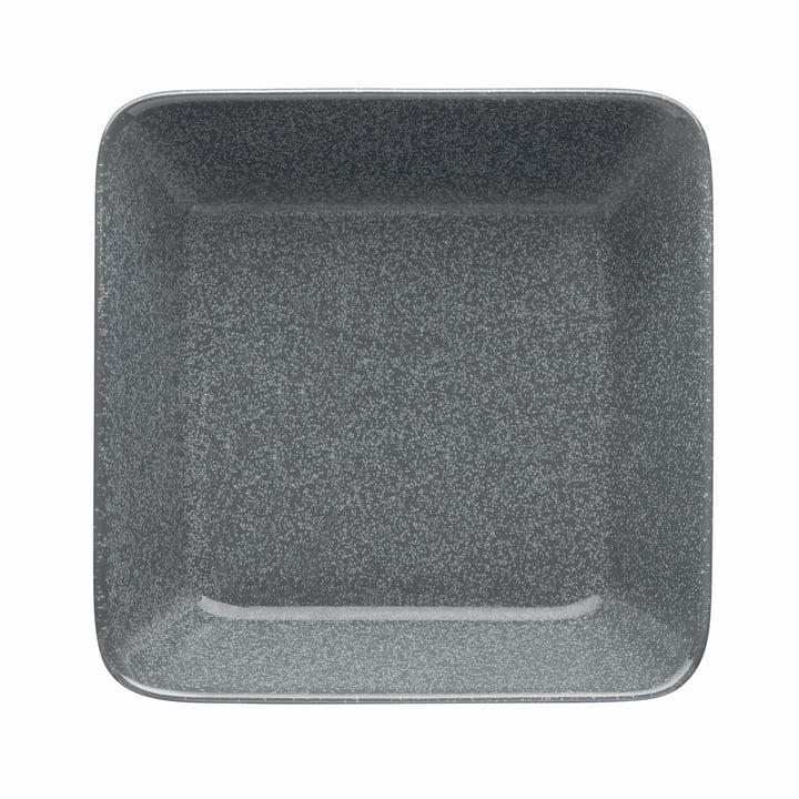 Teema Plate / Bowl 16 x 16 cm by Iittala in Speckled Grey