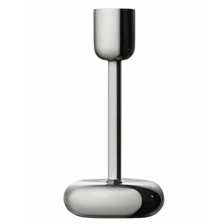 Iittala - Nappula candle holder 183 mm, stainless steel