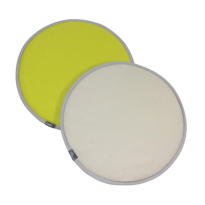 Vitra - Seat Dots, yellow / pastel green
