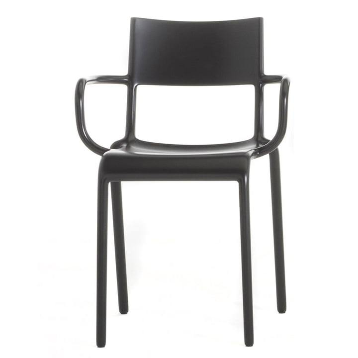 Kartell - Generic A Chair, black