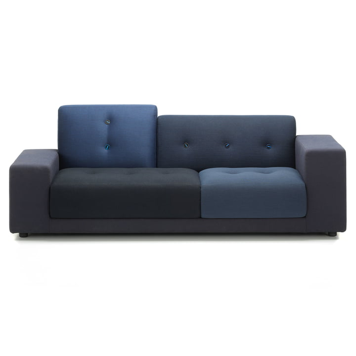 Polder Compact sofa from Vitra in night blue