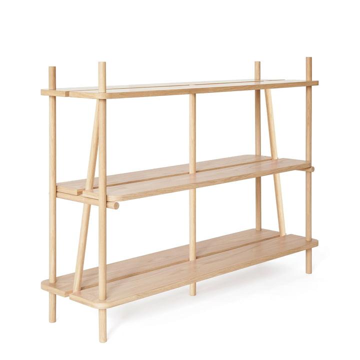 Simone Bookshelf by Hartô 120 cm out of Oak Wood