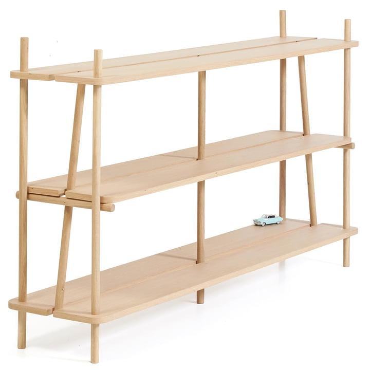 Simone Bookshelf by Hartô 160 cm out of Oak Wood