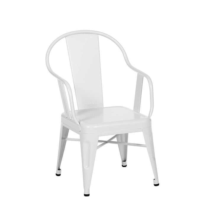 Seagull Armchair by Tolix in White Matt