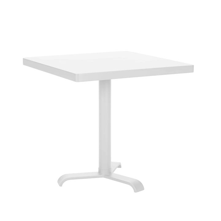 77 Side Table 70 x 70 cm by Tolix in white matt