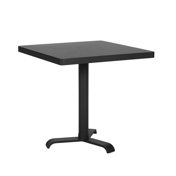 77 Side Table 70 x 70 cm by Tolix in black matt