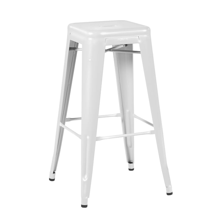 H75 Stool Indoor by Tolix in Glossy White