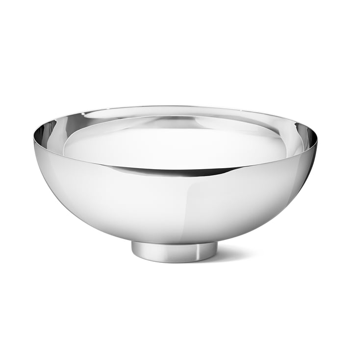 Ilse Bowl large of Georg Jensen in stainless steel glossy
