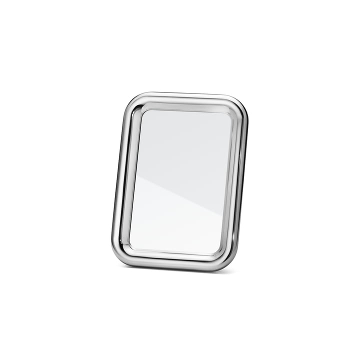 Tableau table mirror extra small by Georg Jensen in aluminium