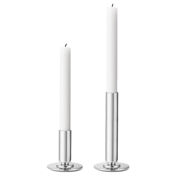 Georg Jensen - Manhattan Candleholder, stainless steel (set of 2)