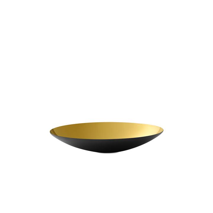 Krenit Bowl flat 2,8 x Ø 16 cm from Normann Copenhagen in gold
