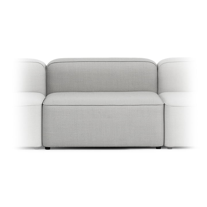 Rope Sofa Wide Module 300 Wide, Centre by Normann Copenhagen in Light Grey (Fame Hybrid 1101)