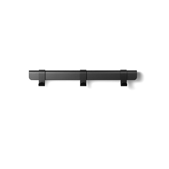 The Million - Hug Coat Rack, 60 cm / 3 hooks in black