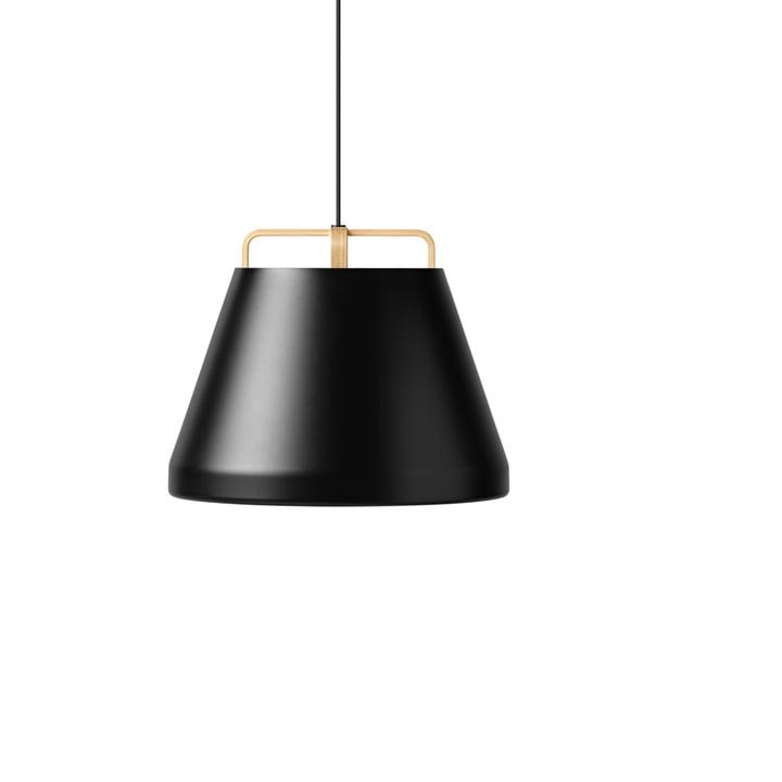 The Million - Voyage M1 Pendant Lamp Ø 46 cm in black / oak