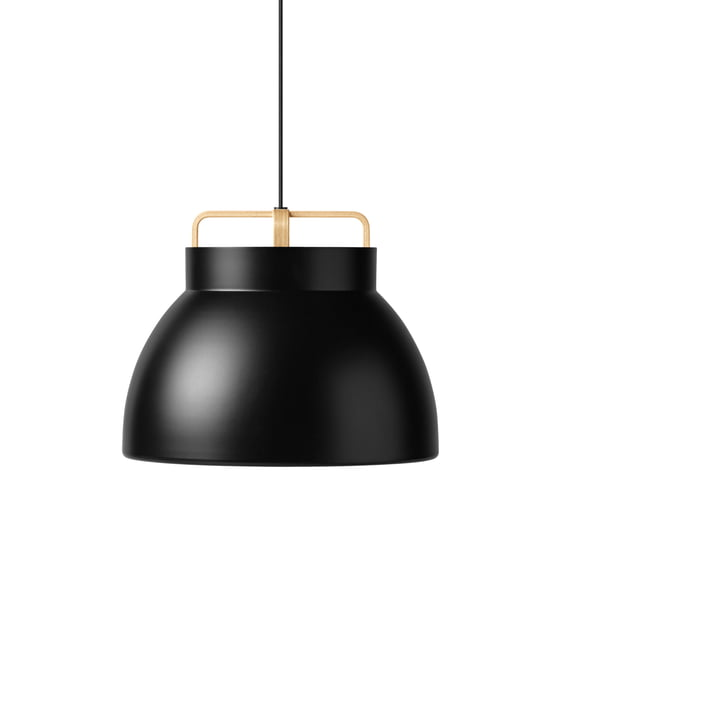 The Million - Voyage M3 Pendant Lamp Ø 46 cm in black / oak
