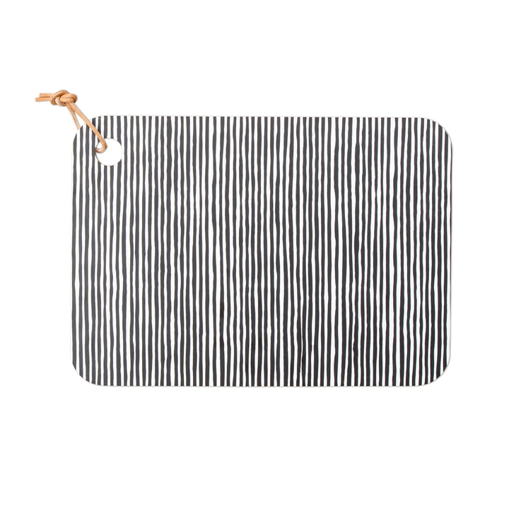 Varvunraita Cutting Board by Marimekko in black / white