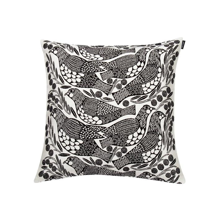 The Marimekko - Kiiruna Cushion Cover 45 x 45 cm in black / white