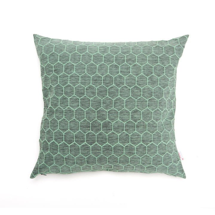 Mika Barr - Atay Cushion Cover, 50 x 50 cm, green