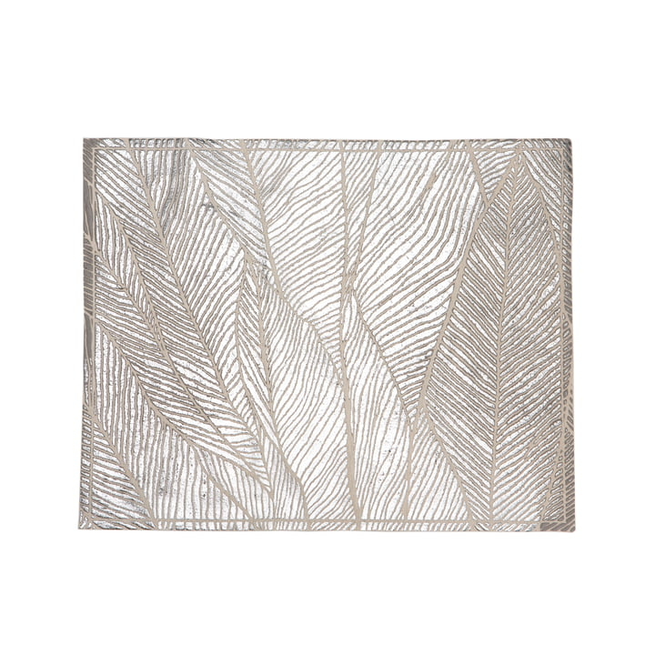 Mika Barr - Pinion Placemat, 50 x 40 cm, silver