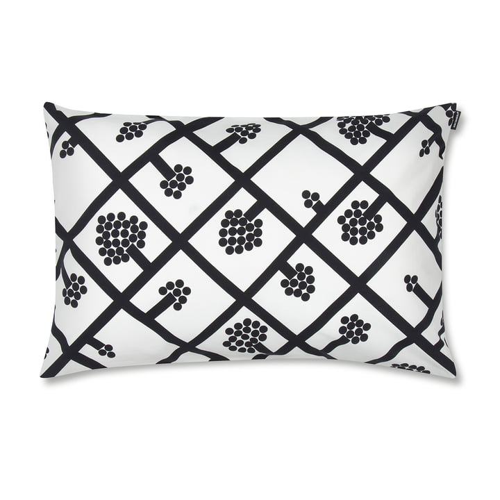 Spaljé cushion cover 40 x 60 cm by Marimekko in black / white