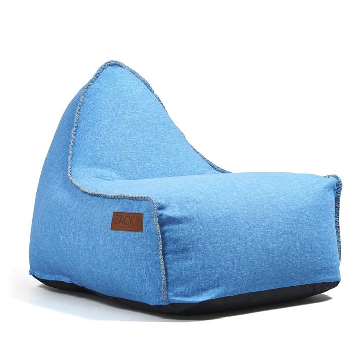 SACK it - Retro it Outdoor Beanbag, turquoise